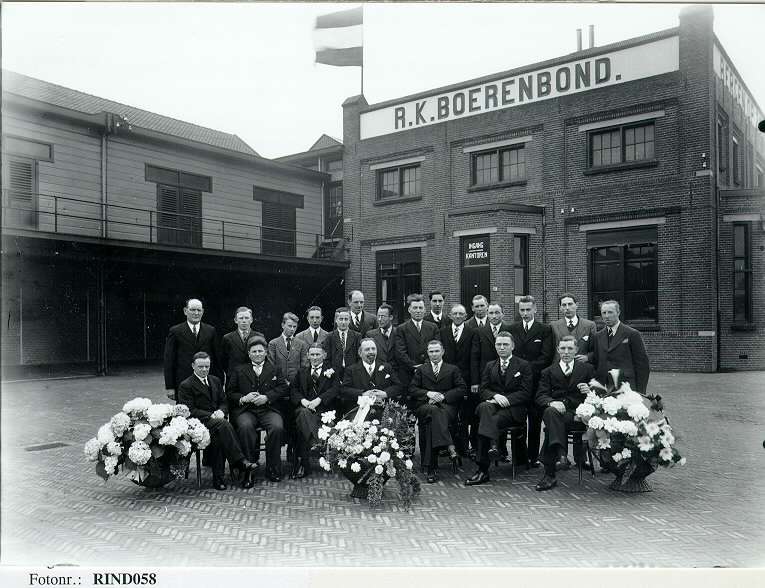 25th anniversiry of J. van Dort, director of the Boerenbond